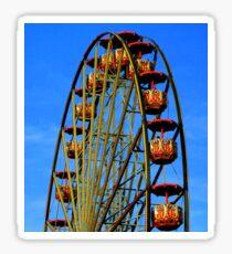 Greek ferris wheel Sticker