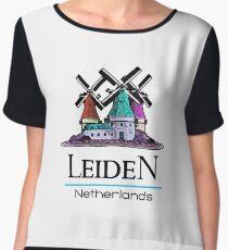 Leiden, The Netherlands Chiffon Top