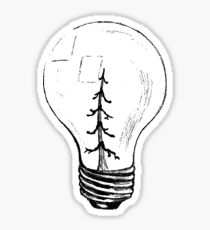 Tree Bulb Sticker