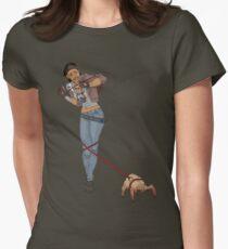 Half Life 2 Alyx & Headcrab Womens Fitted T-Shirt