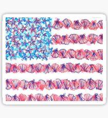 American Lilly  Sticker