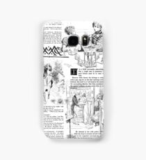 Pride and Prejudice - Pages Samsung Galaxy Case/Skin