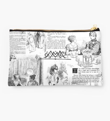 Pride and Prejudice - Pages Studio Pouch
