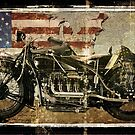 Road Warrior Vintage Motorcycle Unbound by mindydidit