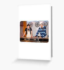 Drake and Josh Sushi Greeting Card