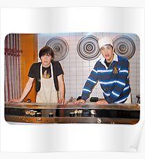 Drake and Josh Sushi Poster