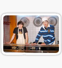 Drake and Josh Sushi Sticker