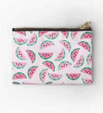 Watermelon Vibrant and Pastel Pattern Studio Pouch
