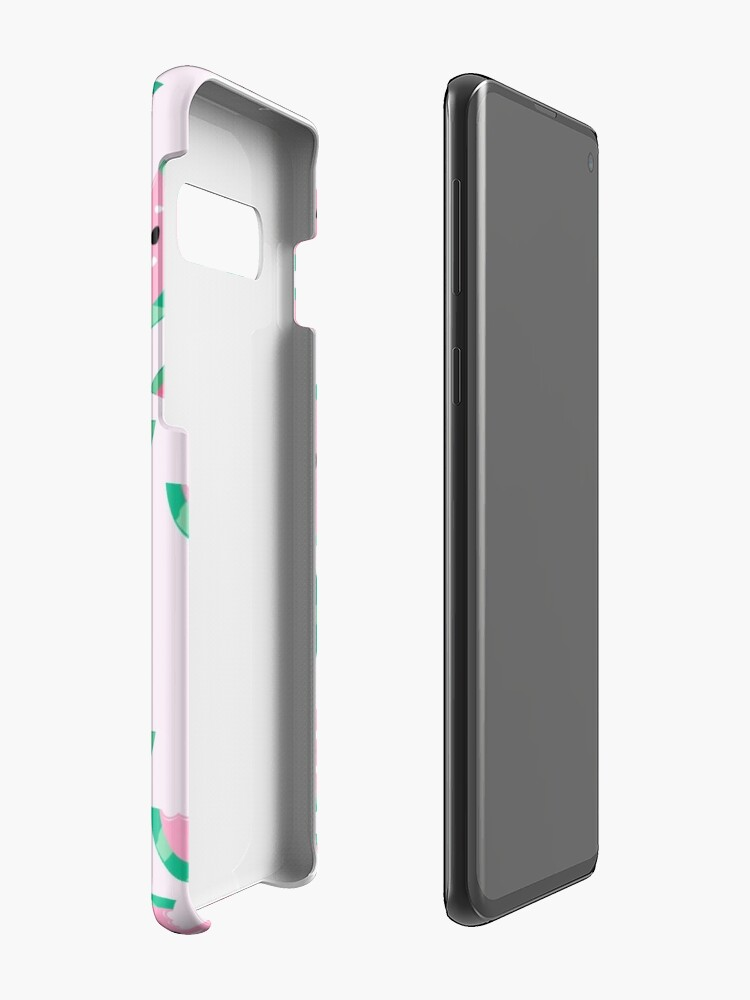 Alternate view of Watermelon Vibrant and Pastel Pattern Case & Skin for Samsung Galaxy