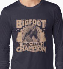 Bigfoot - Hide & Seek Champion Long Sleeve T-Shirt