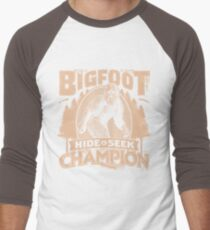 Bigfoot - Hide & Seek Champion Men's Baseball ¾ T-Shirt