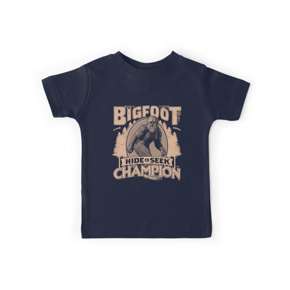 Bigfoot - Hide & Seek Champion by Captain RibMan