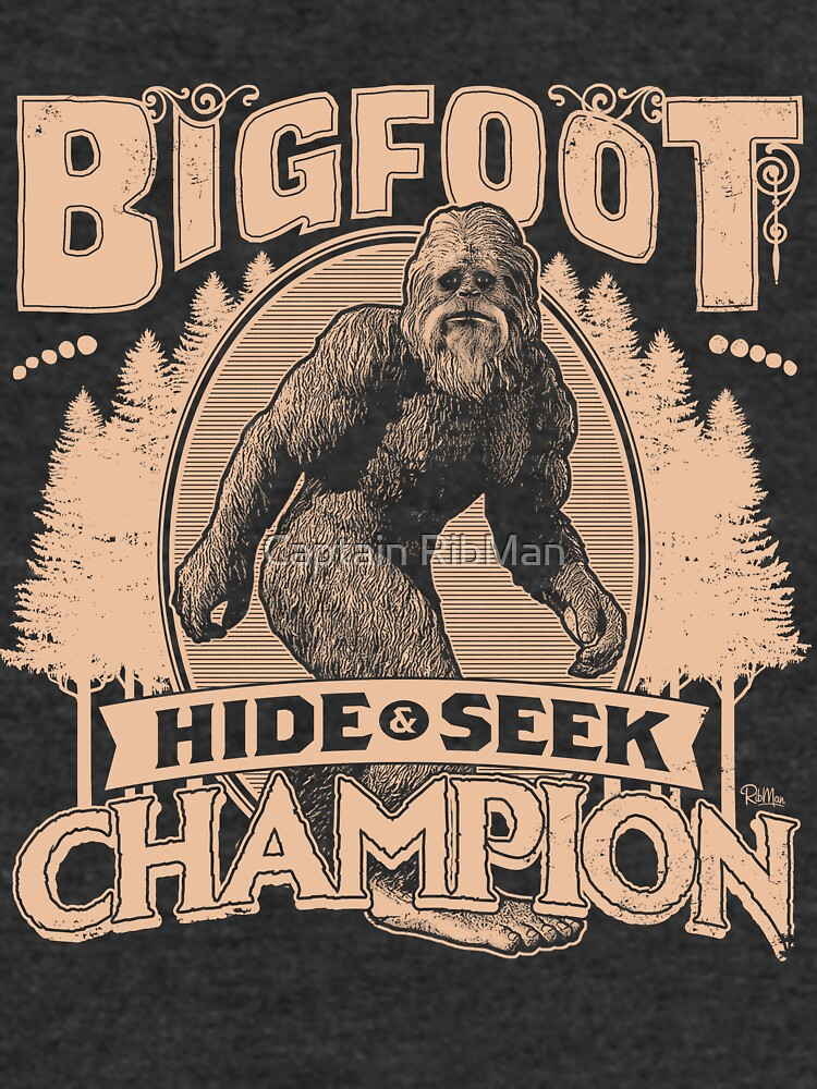 Bigfoot - Hide & Seek Champion by RibMan