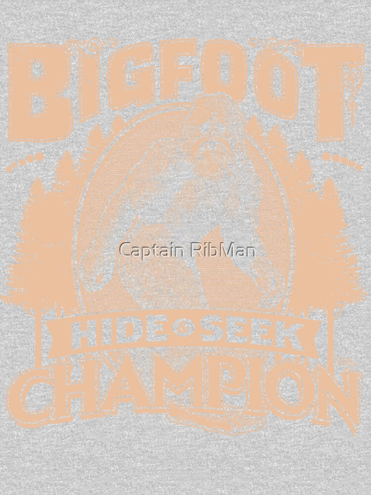 Bigfoot - Hide & Seek Champion by RibMan