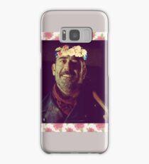 Negan Flower Crown 1 Samsung Galaxy Case/Skin