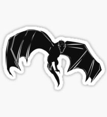 Drogon (BLACK) - PyramidGFX Sticker