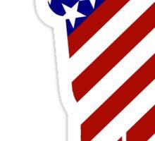 USA Mens Golf - Male Golfer Sticker