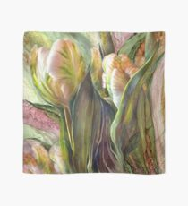 Pink Parrot Tulips Scarf