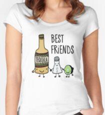 Tequila - Best Friends Women's Fitted Scoop T-Shirt
