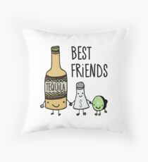 Tequila - Best Friends Throw Pillow