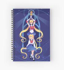 Sailor Moon Spiral Notebook