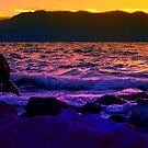 Lake Tahoe Sunset by Elaine Bawden