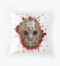 FRIDAY THE 13TH - Bloody Mask Throw Pillow