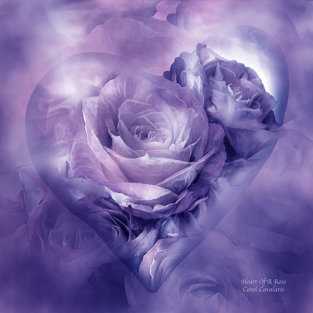 Red Rose Heart Pillow
