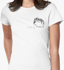 Hamster Women's Fitted T-Shirt