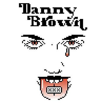 Danny Brown XXX (Pixel) by Jetblackbob