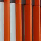 Orange Stripes by Joan Wild