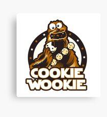 Wookie Cookie Parody Canvas Print