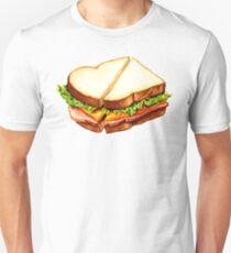 Ham Sandwich Pattern Unisex T-Shirt