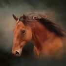 The Wind Of Heaven - Horse Art by Michelle Wrighton