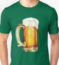 St. Patricks Day - Beer Pattern Unisex T-Shirt
