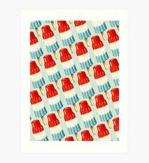 Bomb Pop Pattern Art Print