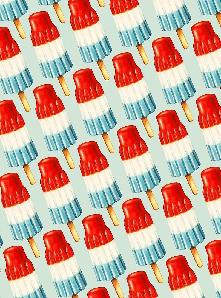 Bomb Pop Pattern by Kelly  Gilleran