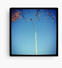 Street light - Solo Lamp Post Canvas Print
