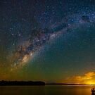 Milky Way Lake Weyba by Sam Frysteen