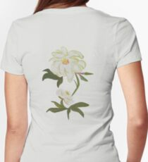 Peony Women's Fitted T-Shirt