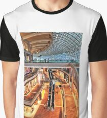 Arcade in Marina Bay Sands Expo & Convention Centre Graphic T-Shirt