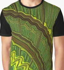 Celtic Harp Abstract Graphic T-Shirt