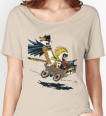 Calvin Hobbes Explore Women's Relaxed Fit T-Shirt