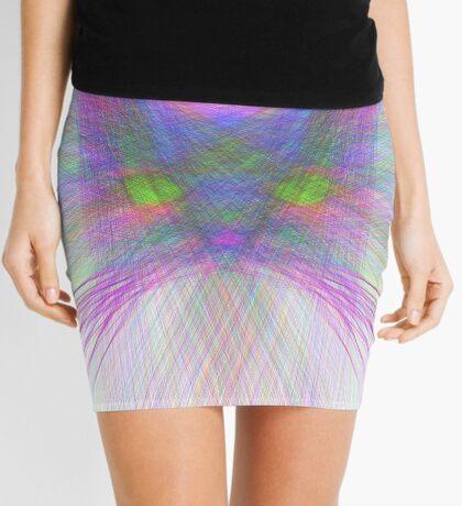 Sky Cat Mini Skirt