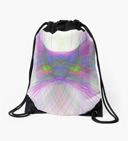 Sky Cat Drawstring Bag