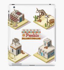 Western Rural Pueblo Tiles iPad Case/Skin