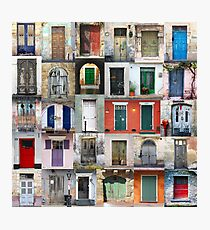 Thirty Doors Photographic Print