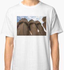 Whimsical Chimneys - Antoni Gaudi, La Pedrera, Barcelona, Spain Classic T-Shirt