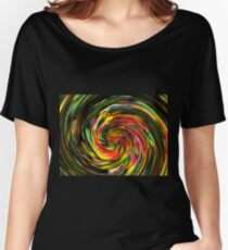 Psychedelic Wave Women's Relaxed Fit T-Shirt