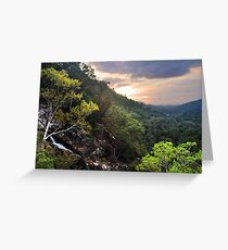 Kondililla Falls Greeting Card